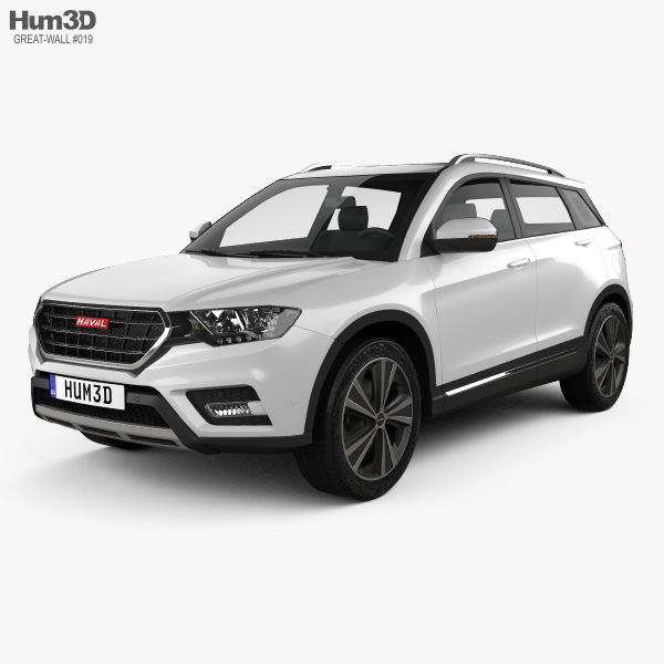 Great Wall Haval H6 2016 3D model