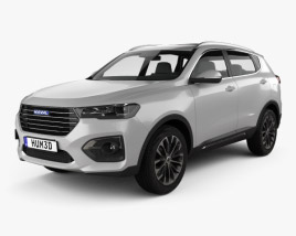 3D model of Great Wall Haval H6 2019