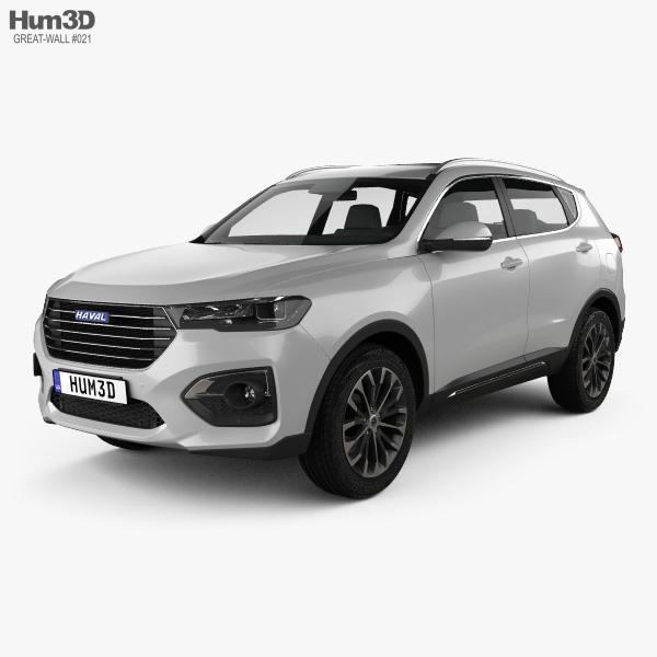 Great Wall Haval H6 2019 3D model