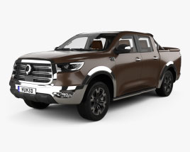 Great Wall Pao with HQ interior 2019 3D model