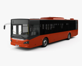 3D model of Guleryuz Cobra GD-272 LF Bus 2017