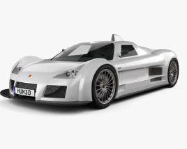 3D model of Gumpert Apollo 2008