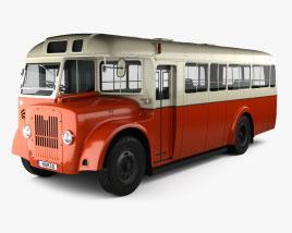 Guy Arab MkV SingleDecker Ônibus 1966 Modelo 3d