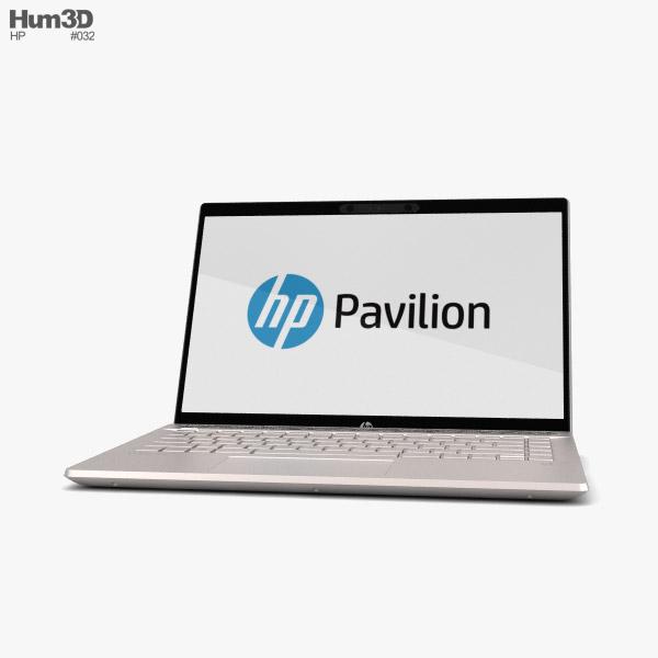 HP Pavilion 14-ce0000no 3D model