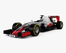 3D model of Haas VF-16 F1 2016