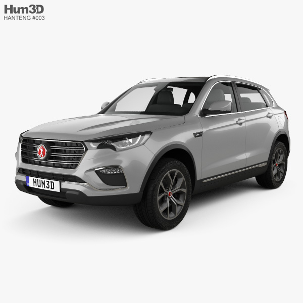 3D model of Hanteng X7 PHEV 2017