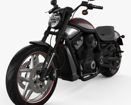 3D model of Harley-Davidson Night Rod Special 2013