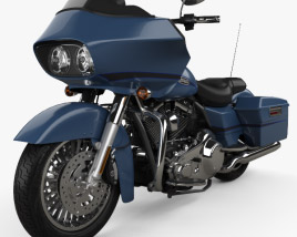 3D model of Harley-Davidson FLTR Road Glide 2009