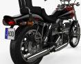 Harley-Davidson FXWG Wide Glide 1980 3d model