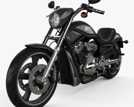 3D model of Harley-Davidson VRSCD Night Rod 2006