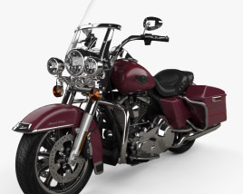 3D model of Harley-Davidson FLHR Road King 1994
