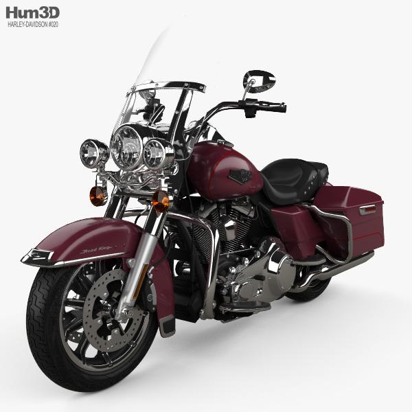 Harley-Davidson FLHR Road King 1994 3D model