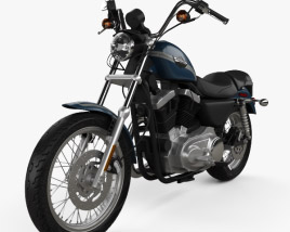 3D model of Harley-Davidson XLH 1200 Sportster 2003
