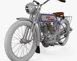 3D model of Harley-Davidson 10F