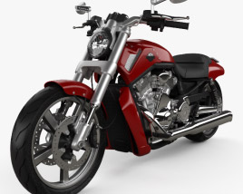 3D model of Harley-Davidson V-Rod Muscle 2010
