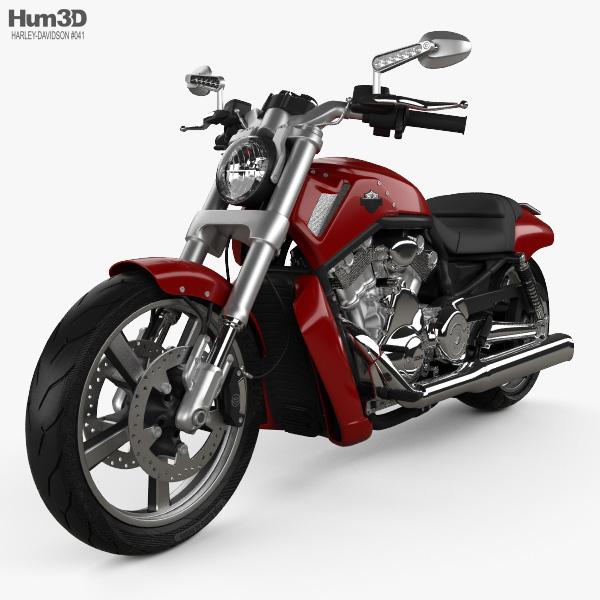 Harley-Davidson V-Rod Muscle 2010 3D model