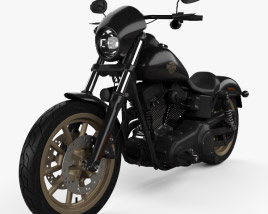 3D model of Harley-Davidson Dyna Low Rider S 2016