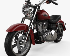 3D model of Harley-Davidson Dyna Switchback 2012