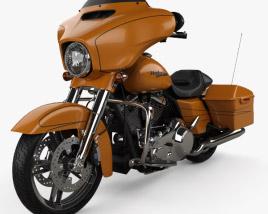 3D model of Harley-Davidson FLHXS Street Glide Special 2014