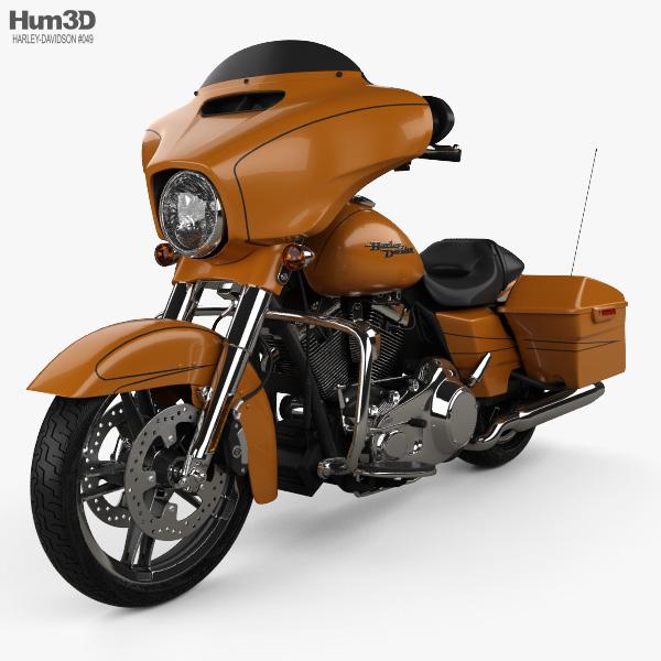 Harley-Davidson FLHXS Street Glide Special 2014 3D model