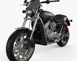 3D model of Harley-Davidson Street Rod XG750 2017