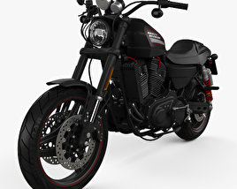 3D model of Harley-Davidson Sportster  XR1200X 2012