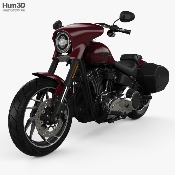 Harley-Davidson FLSB Sport Glide 107 2018 3D model