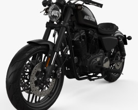 3D model of Harley-Davidson XL 1200 CX Roadster 2018