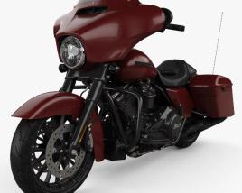 3D model of Harley-Davidson Street Glide Special 2018
