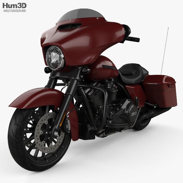 Harley-Davidson Street Glide Special 2018 3D model