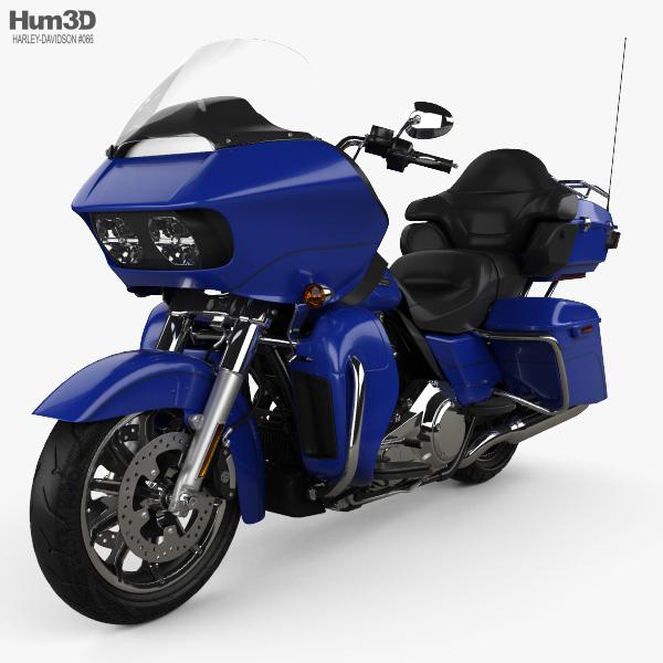 Harley-Davidson Road Glide Ultra 2018 3D model