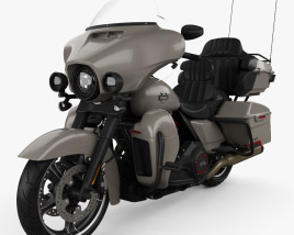 Harley-Davidson CVO limited 2020 3D model