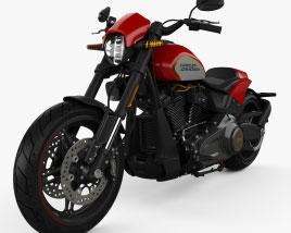 Harley-Davidson FXDR 114 2020 3D model