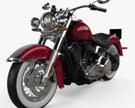 Harley-Davidson Deluxe 107 2021 3D model