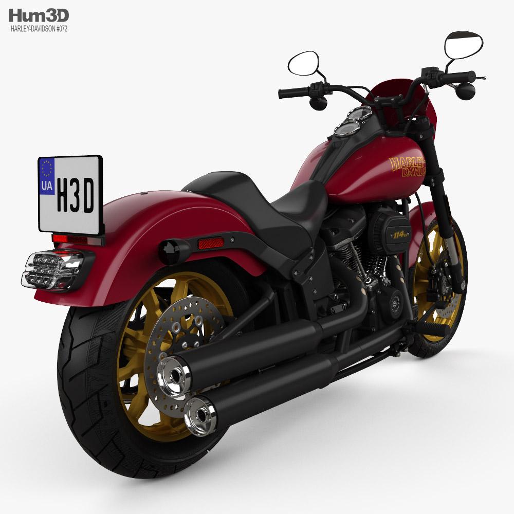 Harley-Davidson Low Rider 107 2021 3d model