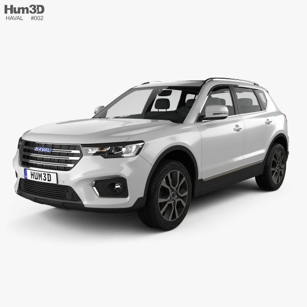 Haval H7 2019 3D model