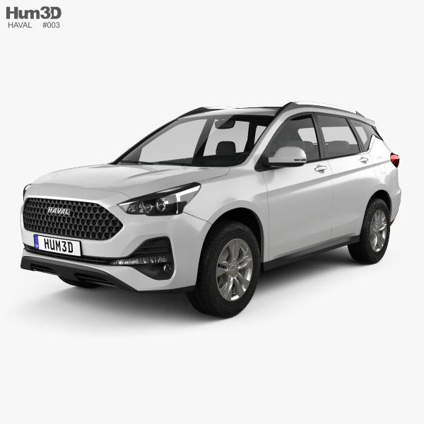 Haval M6 2019 3D model