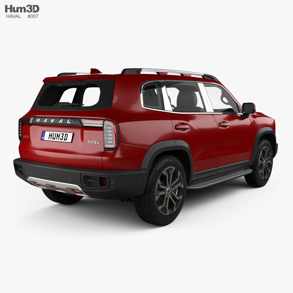 Haval Dagou 2020 3d model