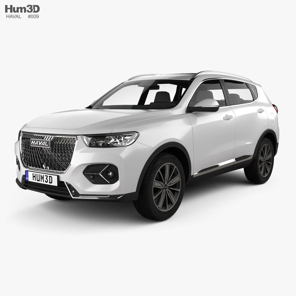 Haval H6 2020 3d model