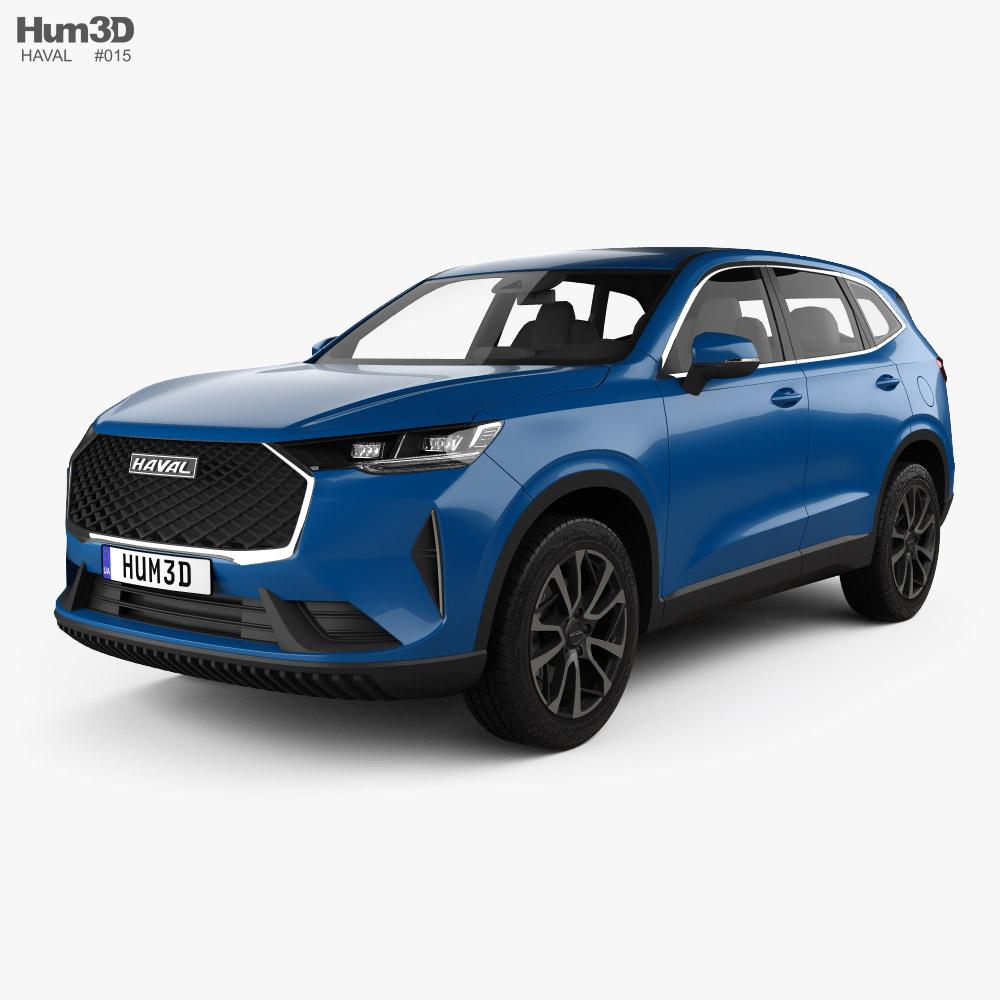 Haval H6 Premium 2021 3D model