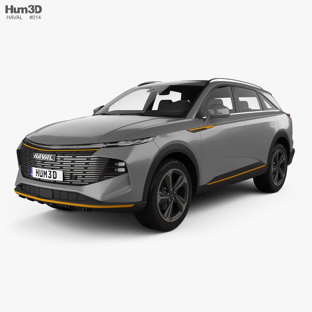 Haval XY 2021 3D model