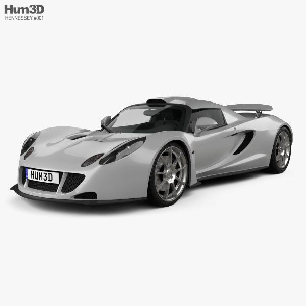 3D model of Hennessey Venom GT 2012