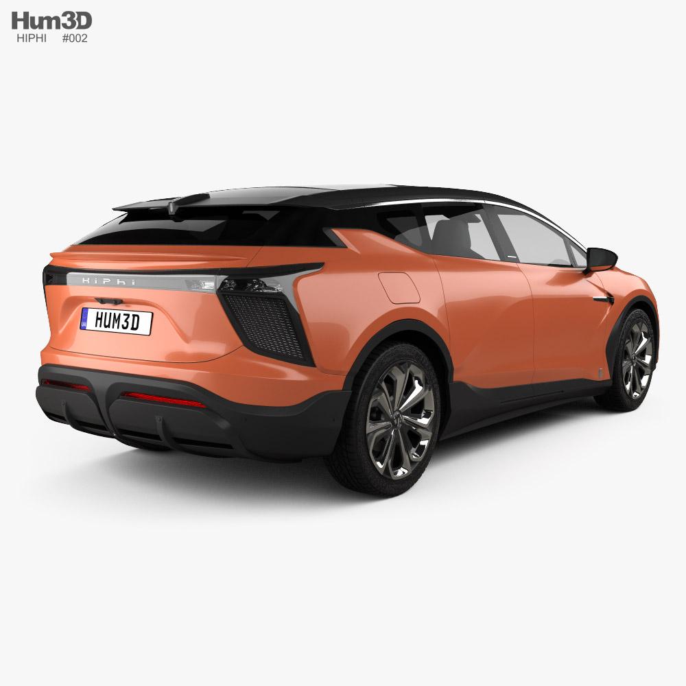 HiPhi X 2020 3D model