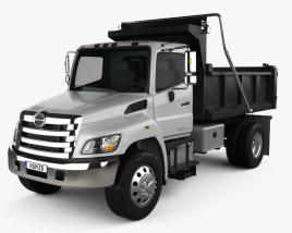 3D model of Hino 338 Dump Truck 2007