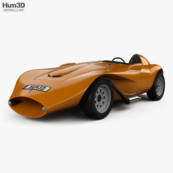 Hirondelle 1958 3D model