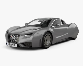 3D model of Hispano-Suiza Carmen 2019
