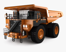 3D model of Hitachi EH5000AC-3 Dump Truck 2012