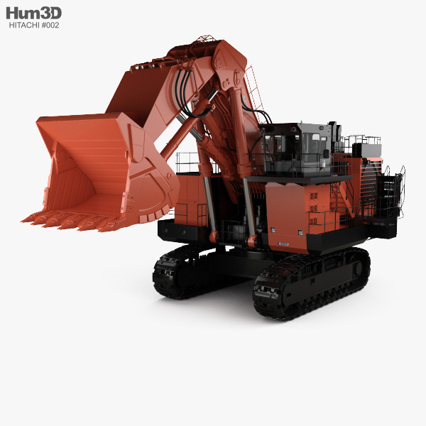 Hitachi EX3600-6 2018 3D model