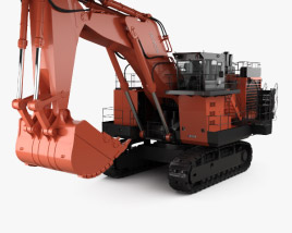 3D model of Hitachi EX3600 2018