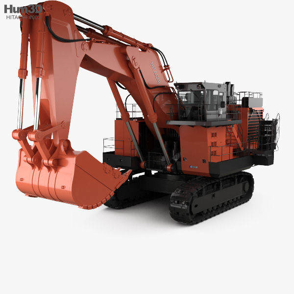 Hitachi EX3600 2018 3D model